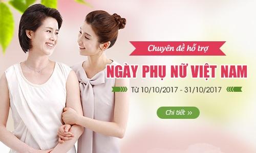 Trao sức khỏe –Gửi yêu thương đến người bạn đời trong ngày Phụ nữ Việt Nam
